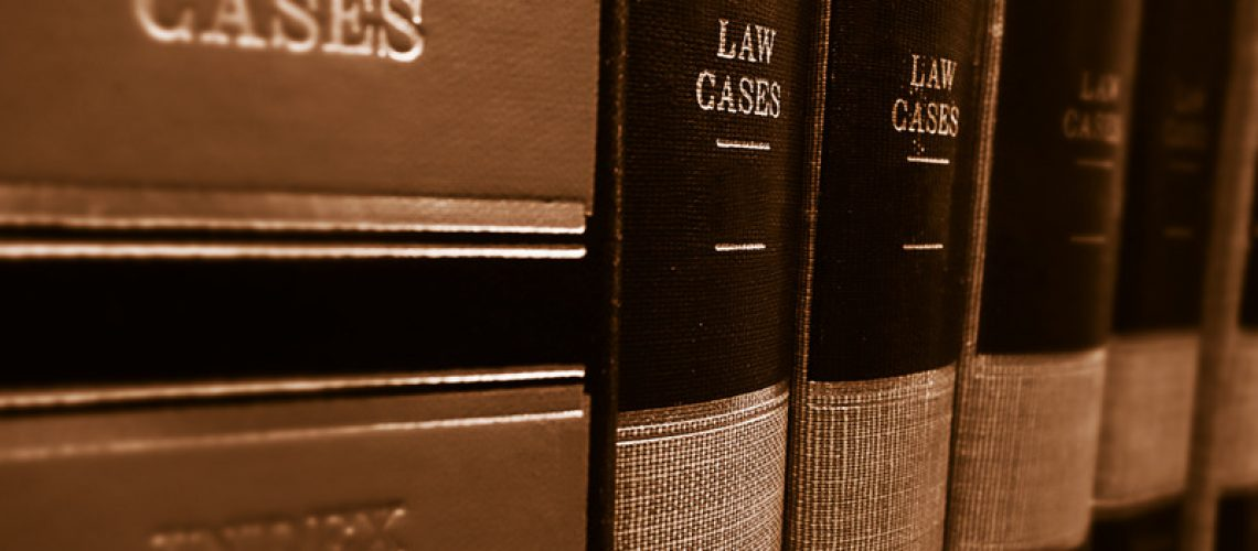 Canva - Law Books in the Library